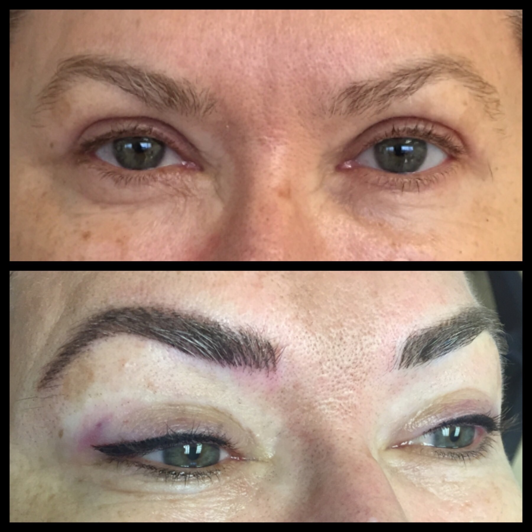 Permanent Eyebrows | Diane Makish, Permanent Makeup, Fort